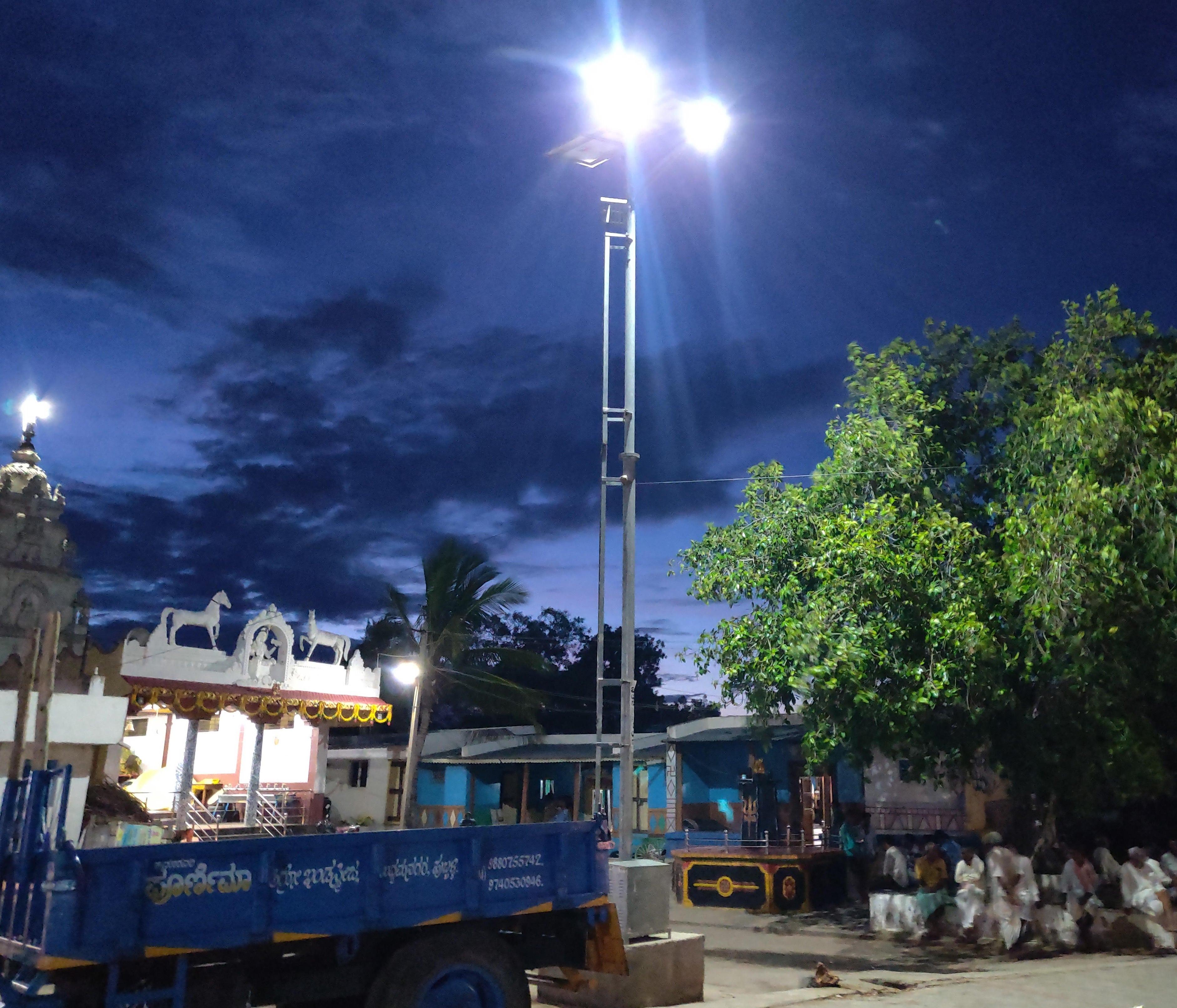 Solar High Mast System - Shiraguppi, Dharwad