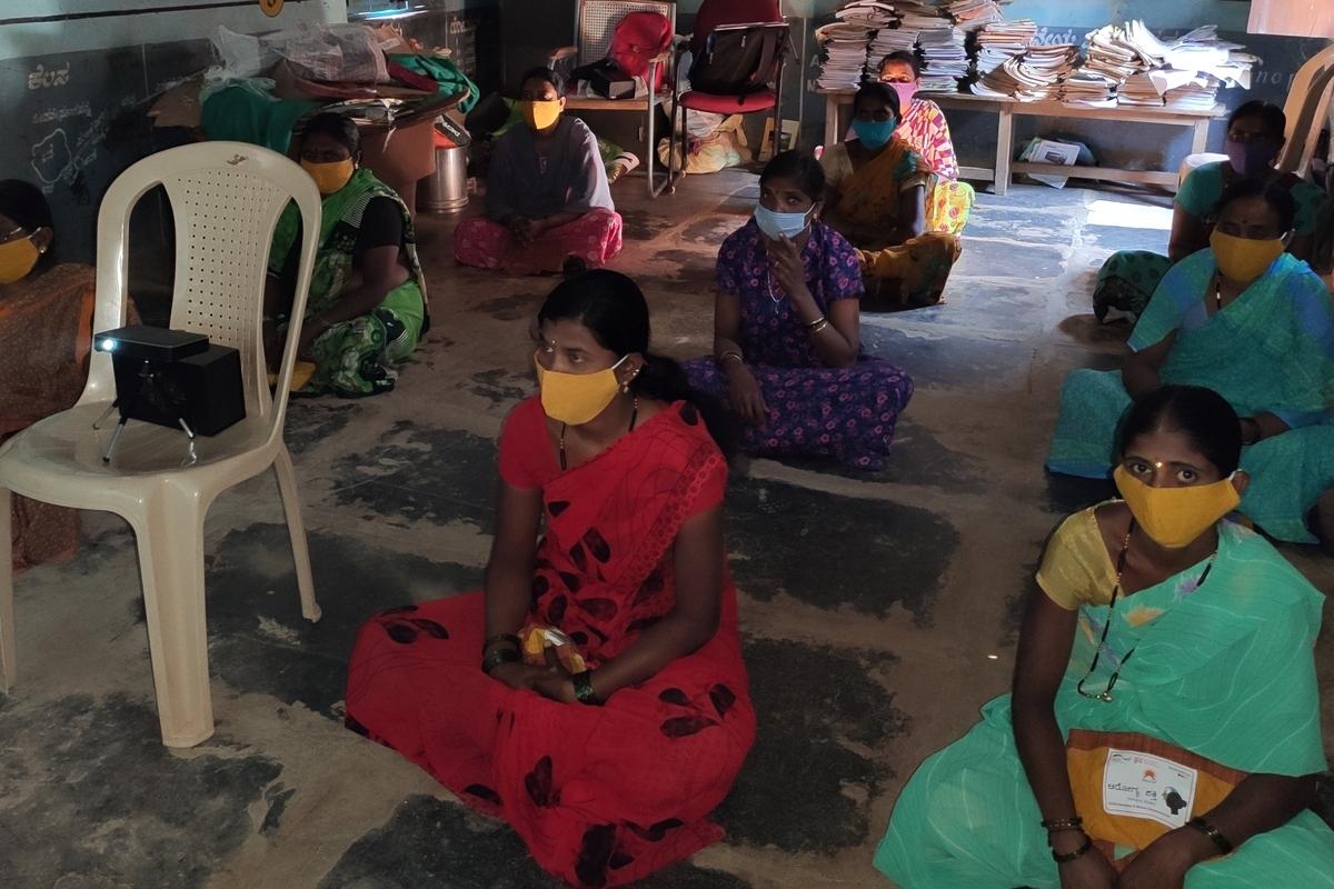 Training on Covid in Dharwad