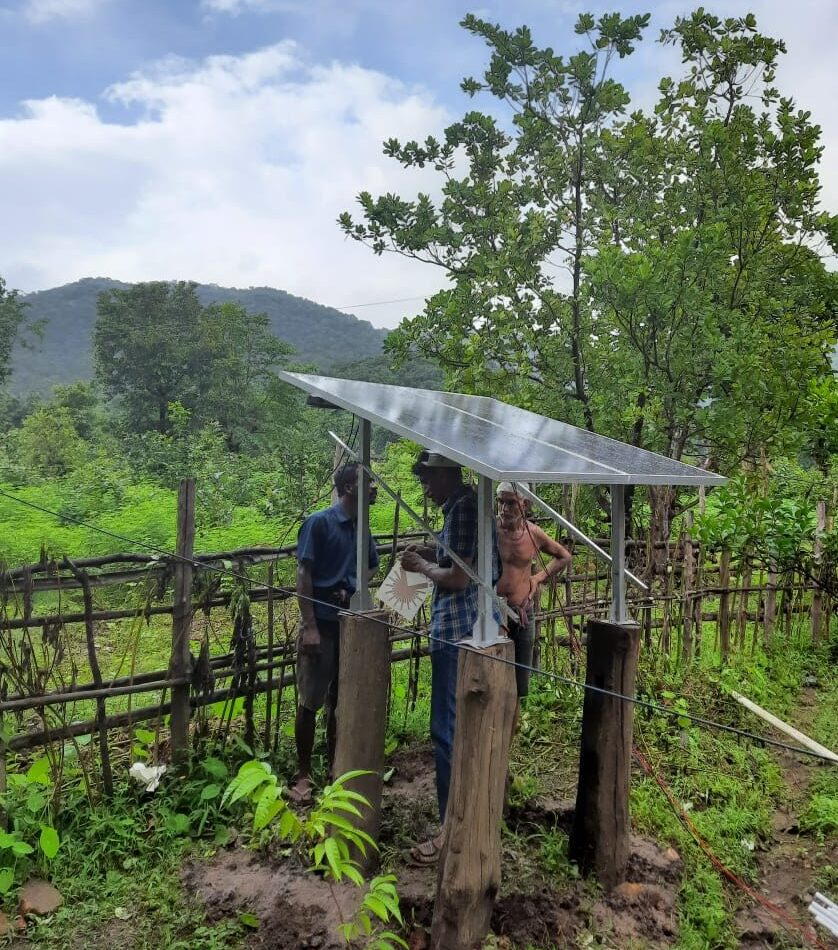 Inverter System has been installed by SELCO at Sulgeri a remote village , Near Kodsalli dam,  Joida Taluk. This Inverter system is financed by Ulavi Cooperative bank.